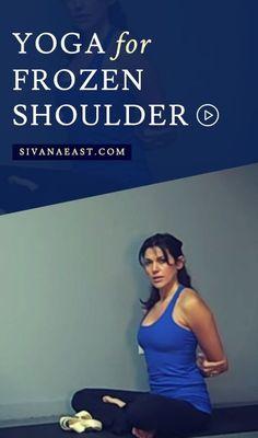 Yoga For Frozen Shoulder
