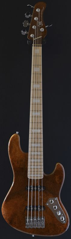 MAYONES Jabba Custom 5 - Redwood top