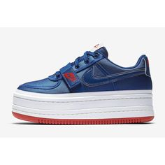 47abc3200834 SALE  WOMENS NIKE VANDAL 2K GYM BLUE SUMMIT WHITE RED AO2868-400