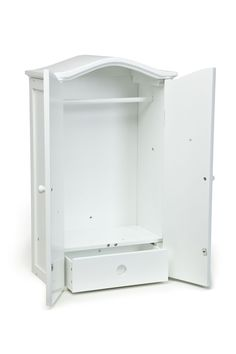 AllDollFurniture.com - 18 inch Doll Armoire, $64.99 (http://alldollfurniture.com/products/18-inch-doll-armoire.html)