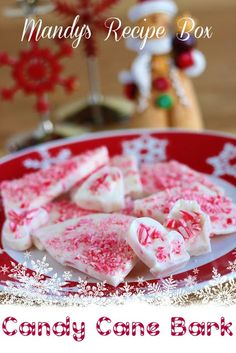 Mandy's Recipe Box: Candy Cane Bark
