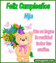 gifs de cumpleaños de flores Birthday Greetings For Aunt, Happy Birthday Niece Wishes, Happy Birthday Flower, Happy Birthday Pictures, Birthday Photos, Happy Birthday Stephanie, Happt Birthday, Happy Sunday Quotes, New Years Eve Party