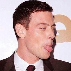 The Late Cory Monteith./ Silly boy