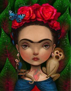 vans de frida kahlo animada - Buscar con Google