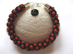 bransoletka+black-red+w+hi,hi+bijou+na+DaWanda.com