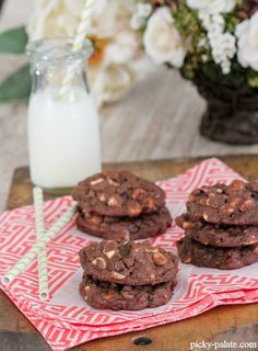 Triple Chip Chocolate Chunk Cookies 2