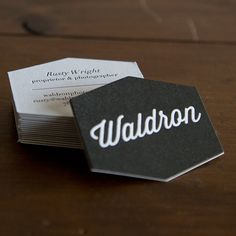 Business cards for waldron photograph co printed on 220 cranes event information kansas citydesign reheart Gallery