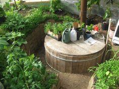 compost heated greenhouse design - Google otsing Heated Greenhouse, Greenhouse Ideas, Greenhouse Gardening, Vegetable Gardening, Gardening Tips, Rocket Stoves, Earthship, Sliding Glass Door, Wooden Greenhouses