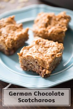 These German Chocolate Scotcharoos are a great gooey, chewy treat for all to enjoy. Made with puffed rice cereal and sweet caramel frosting, these bites are rich, creamy, and perfectly scrumptious! Enjoy your dessert with a Bounty Paper Towel on hand to take care of sticky fingers.