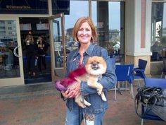 New Jersey's Pier Village - Pink Pooche! Paint the Town Pink event, October 2013
