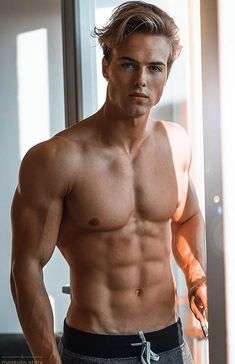 Blonde Guys, Hommes Sexy, Handsome Faces, Perfect Boy, Shirtless Men, Attractive Men, Muscle Men, Male Beauty, Hot Guys