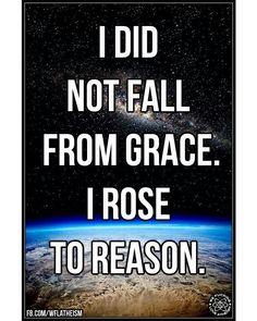 "183 Likes, 3 Comments - Godless Mom (@godless_mom) on Instagram: ""Rose to reason. #atheist #atheism #atheistrollcall #atheistpics #religion #godless #goodwithoutgod…"""