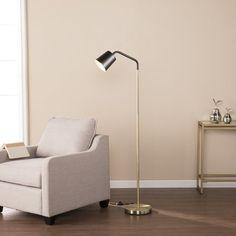 "Geometric 58"" Arched/Arc Floor Lamp"
