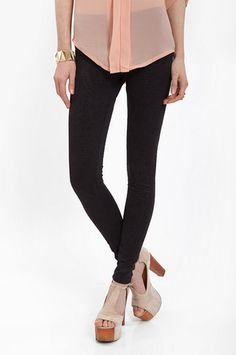 Embossed Leggings $44 at www.tobi.com