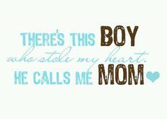 I love my son! :)