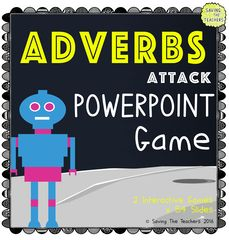 Adverb PowerPoint Game Summer Giveaway! ! Enter for your chance to win 1 of 2. Adverb PowerPoint Game (54 pages) from Saving The Teachers on TeachersNotebook.com (Ends on on 06-23-2016) Enter for a chance to win our fun an interactive Adverb Attack PowerPoint game. It is just one of the products in our Adverbs Attack set. 2 chances to win! Remember, follow our store to keep informed with all of our sales, new products, and giveaways. - https://www.teachersnotebook.com/shop/SavingTheTeache...