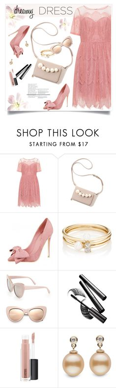 """So Pretty: Dreamy Dress"" by tamara-p ❤ liked on Polyvore featuring Loren Stewart, STELLA McCARTNEY, Chantecaille, MAC Cosmetics and dreamydresses"