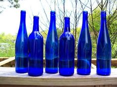 Colbalt Blue glass, collect it, love it!