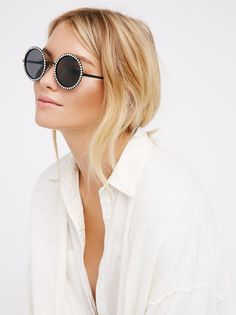 Aviator and Round Sunglasses for Women | Free People. View the whole collection, share styles with FP Me, and read & post reviews.