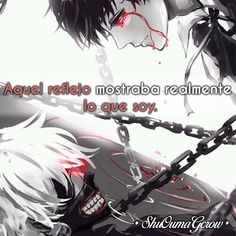 Aquel reflejo #ShuOumaGcrow #Anime #Frases_anime #frases