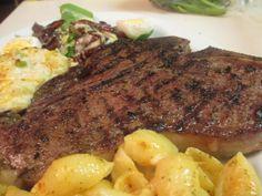 Perfectly Grilled T-bone Steak! IHeartRecipes.com