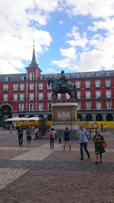 Plaza Mayor en Madrid, Madrid