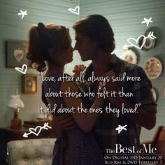 The Best of Me - I absolutely love this book.