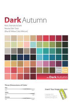Women's Dark Autumn