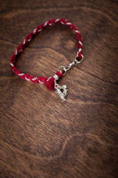 South Carolina #Gamecocks Charm Bracelet on BourbonandBoots.com