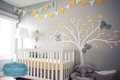 Cute Nursery from Lori Anderson Photographers. Orange County Newborn Photos: Welcome, Baby E! » Orange County Photographer | Orange County Wedding Photographer