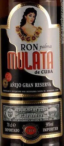 Ron Palma Mulata.