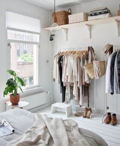 Have you had enough with the chaos of your wardrobe and the mess of your clothes. Well its time to do something about it ... its not an easy process but the results set you free. Go through each item and put into piles ( Wear/ sometimes wear/ don't wear) Out with the old - Give away
