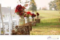 rustic fall wedding decor  | Julie Pottorff Photography | http://juliepottorff.com