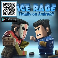 Ice Rage - a single-device multiplayer for 2 people! Google Play: https://play.google.com/store/apps/details?id=com.herocraft.game.free.icerage