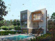 Villa in KSA | vray remder by Arch Basiony  A.Basiony