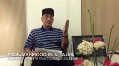 Introducing Islam by Prof. Mahmood Tajar [part 1]