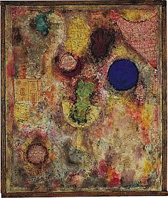'Magic Garden' by Paul Klee, 1926.    Peggy Guggenheim Collection, Venezia, Italy. Sept. 2011.