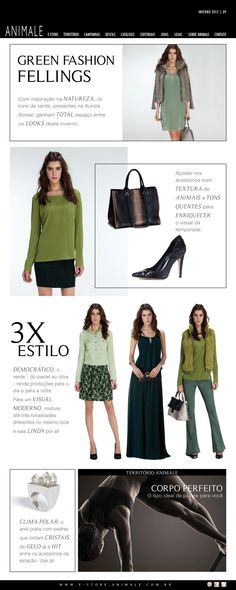Editorial 9 - Green Fashion Feelings - Inverno 2013