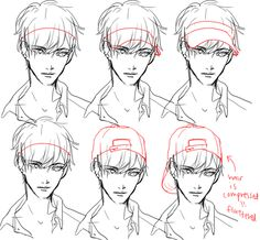 New hat tutorial drawing design reference ideas Drawing Techniques, Drawing Tips, Drawing Sketches, Art Drawings, Manga Drawing Tutorials, Sketching, Art Reference Poses, Drawing Reference, Wie Zeichnet Man Manga
