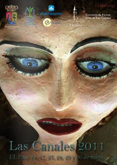 """""""La Machanga"""" en las FIESTAS DE LA CRUZ  de Las Canales, en el Paso.La Palma. Es tradicionalmente en la 2ª quincena de Mayo cuando se produce la bajada de La Machanga, Pepa que se encuentra con Pepe....."""