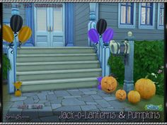 Sims 4 CC's - The Best: JACK-O-LANTERNS & PUMPKINS by Srslysims