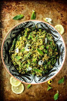 Verde Quinoa Salad