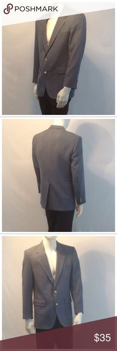 """JOHN ALEXANDER Men's Suit Jacket JOHN ALEXANDER Men's Suit Jacket, made for May D & F, made in USA, partially lined, dry clean. Approximate measurements are 20 1/2"""" arm pit to arm pit laying flat, 17"""" shoulder seam to shoulder seam, 30 1/2"""" shoulder to hem, 23 1/2"""" sleeve from shoulder to end of sleeve, 10"""" slit from hem up. 11104 John Alexander Suits & Blazers"""