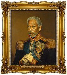 I love this Morgan... Freeman by Steve Payne