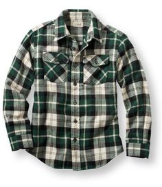 Boys' L. Bean Flannel Shirt - I think it could fit! Flannel Shirts, Mens Flannel, Fashion Killa, Girl Fashion, Girl Style, My Style, Big Brothers, Ll Bean, Little Man