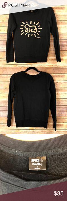 1ccaa32b38afe Uniqlo x SPRZ NY Keith Haring Sweatshirt - Small Uniqlo x SPRZ NY Keith  Haring Black