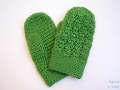Espacio Crochet: Manoplas Japanese PATTERN