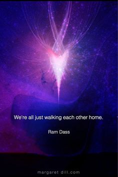 We're all just walking-Ram Dass Quote, Daily motivational quotes and inspirational self-help videos from New thought leaders mystical art & new age store Ram Dass, Awakening Quotes, Spiritual Awakening, Positive Affirmations, Positive Quotes, Great Quotes, Inspirational Quotes, A Course In Miracles, After Life
