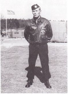 Dick Winters at the end of training at Camp Taccoa.