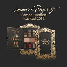 NUEVA PALETA IMPERIAL MAJESTY en Edición Limitada para Navidad 2012